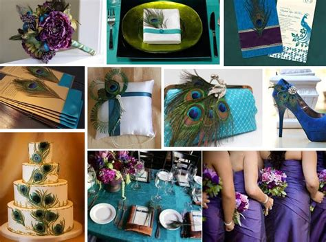 Tbdress Blog Color Your Wedding With Peacock Themed Wedding