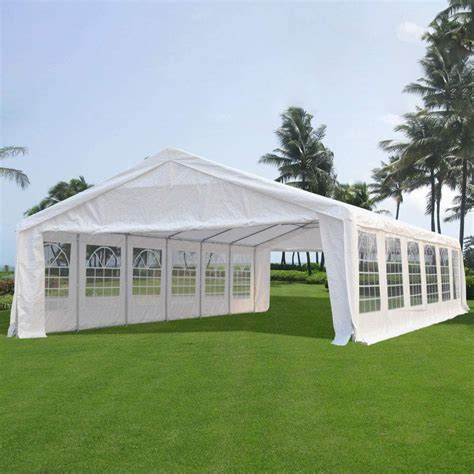 heavy duty tent gazebo canopy galvanized frame