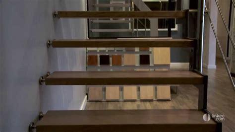 conception fabrication et pose d escalier bois m 233 talique suspendu maurel et fils
