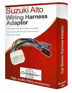 Suzuki Alto Radio Stereo Wiring Harness Adapter Lead Loom