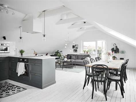 couleur cuisine salon air ouverte simple cuisine quipe avec ilot cuisine gris parquet