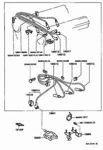 Toyota Truck Cord  Spark Plug Resistive  No  5  Ignition