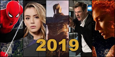 Every Marvel Movie & Tv Show Coming In 2019