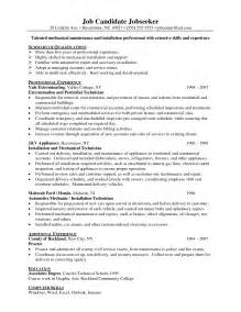 Apartment Maintenance Resume Objective by S55 Student Resume Template Student Resume Template