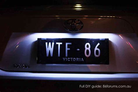 Scion Frs Tail Lights by Toyota 86 2x T10 License Number Plate Lights Led Ft86