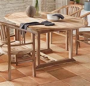 Gartentisch Holz Rund : sam gartentisch ausziehbar teak holz 120 170 cm oval borneo ~ Whattoseeinmadrid.com Haus und Dekorationen