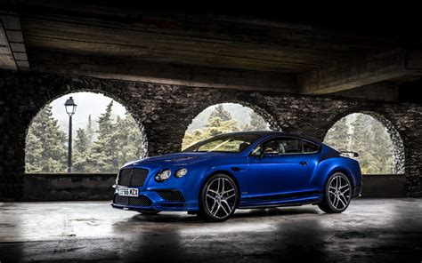 Bentley Continental Supersports 2017 Wallpapers Hd