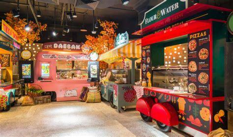 food trucks  singapore picnic   themed restaurant