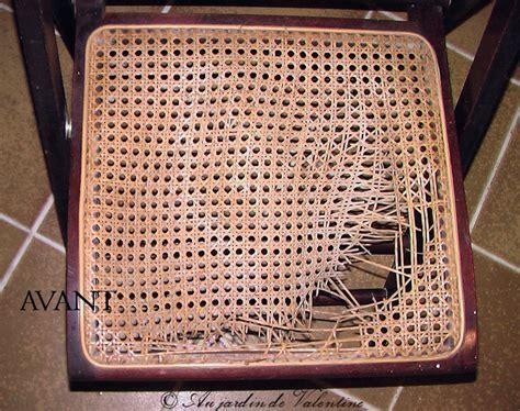 cannage chaise au jardin de