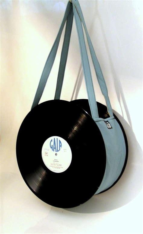 Tasche Aus Schallplatten by 33 Rpm Schallplatten Beutel Blau Uniktonsac Szycie