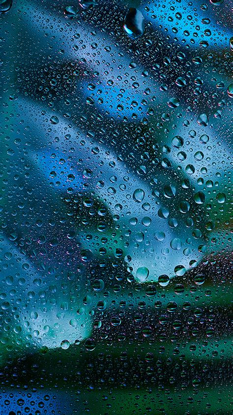 vx rainy bubble blue window pattern background wallpaper
