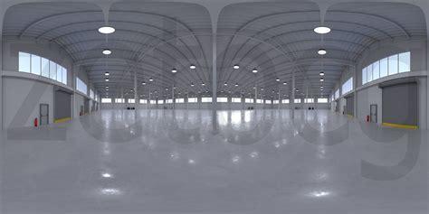 Garage Hdri by Hdri Industrial Building Interior 5 3d Model Cgtrader
