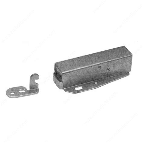 push latch cabinet hardware touch latch for cabinets 556002g richelieu hardware