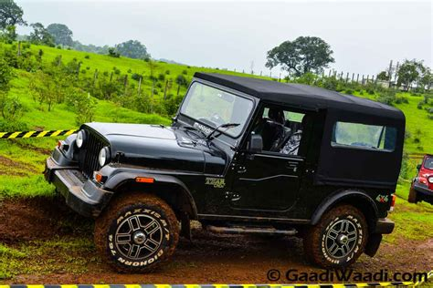 mahindra jeep thar top 15 changes seen in the 2015 mahindra thar
