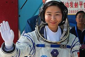 China puts its first woman astronaut into space