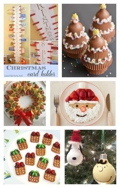 fun finds friday with christmas fun food diy craft ideas