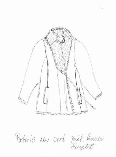 Coat Fur Sable Jackie Robbins Purposing Re