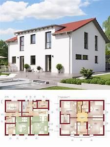 Modernes Haus Grundriss : modernes haus mit einliegerwohnung satteldach architektur hausbau ideen grundriss ~ Bigdaddyawards.com Haus und Dekorationen
