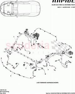 Aston Martin Rapide Forward Wiring Parts