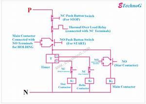B27 Control Wiring Diagram Of Star Delta Starter