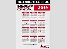 CALENDARIO LABORAL 2019 – BADALONA – BARCELONA Badalona