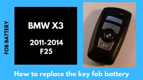 bmw  key fob battery replacement easy   guide