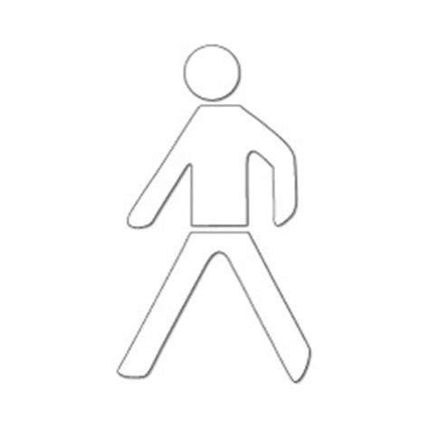 malette de bureau pictogramme piéton silhouette thermocollant stocksignes