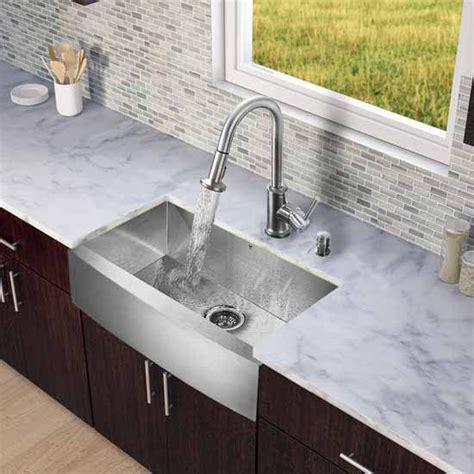vigo kitchen sinks complete your kitchen design with the vigo all in one 33 3150