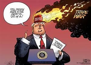 Beeler cartoon: Trump's trade war - Opinion - Fort ...