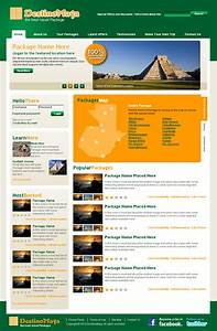 dreamweaver layout templates - travel agency dreamweaver templates