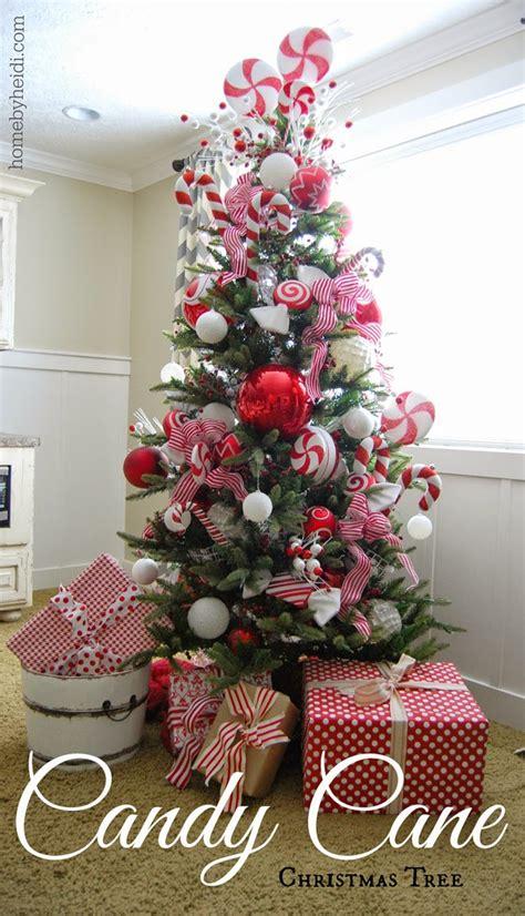 home  heidi candy cane christmas tree
