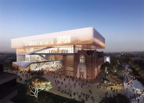 museum of design oma and hassell design new museum for western australia
