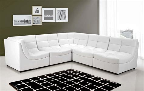 white cloud modular sectional  pc