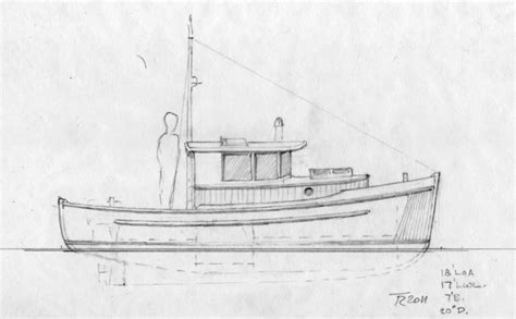 Mini Boat Drawing by Found Mini Power Boat Plans Grab