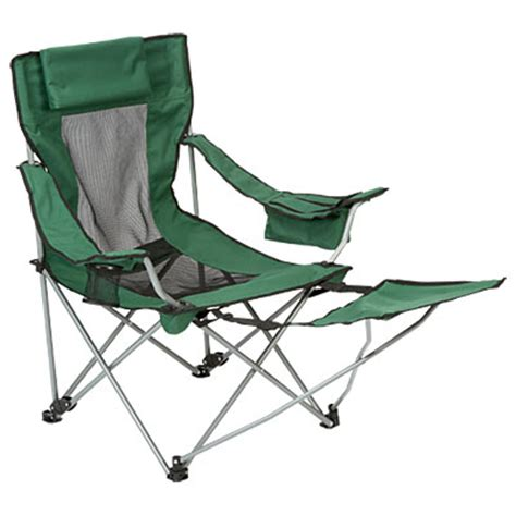 wilson fisher 174 folding chair with footrest big lots