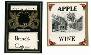 vega alta brnady cognac apple wine vintage labels liquor With apple wine labels