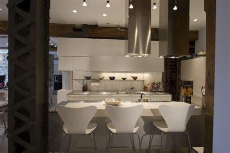 maison deco cuisine deco maison industrielle vue cuisine