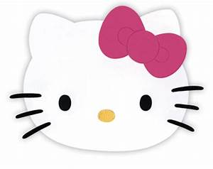 Masks clipart hello kitty pencil and in color masks for Hello kitty mask template