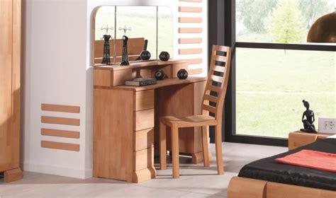 coiffeuse en bois coiffeuse en bois massif pour chambre a coucher en bois