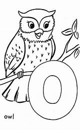 Coloring Letter Owl Pages Abc Template Alphabet Sheets Printable Activity Sheet Letters Dot Animal Honkingdonkey Templates Primary Printables Drawing Worksheets sketch template