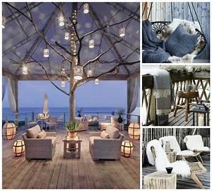 amenagement terrasse exterieur pour l39hiver en 45 idees With photo amenagement terrasse exterieur 11 decoration salon tv
