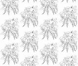 Coloring Spoonflower Fabric sketch template