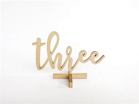 calligraphy table numbers gold gold wooden calligraphy table number rentals lucky day