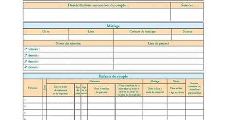 fiche d organisation cuisine une fiche pratique pour suivre la chronologie familiale d
