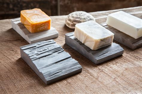 Slope Concrete Soap Holder/ Dish