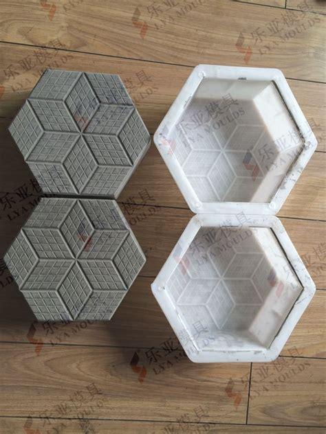 plastic mold form concrete paver tiles view interlock
