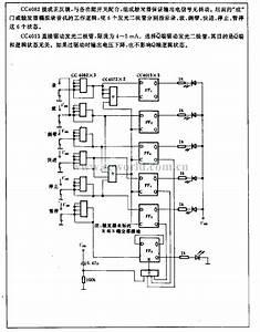 Tape Recorder Remote Control Display Circuit