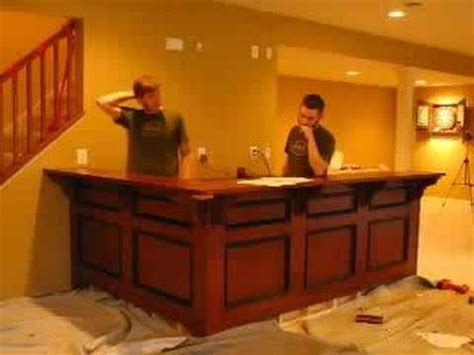 bar install  cabinets  soundtrack youtube