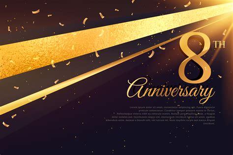 anniversary celebration card template