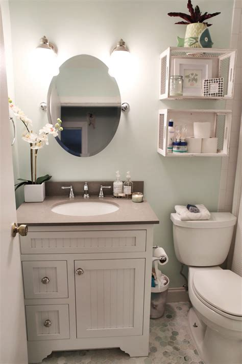 vanity ideas for small bathrooms small bathroom renovation with before and after photos